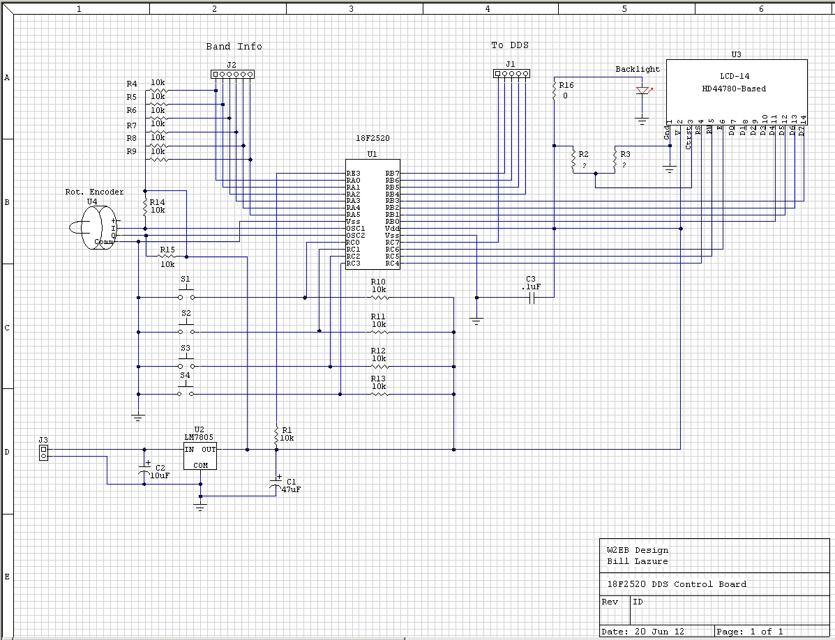 on ad9850 module schematic